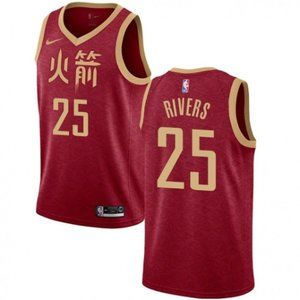 Austin Rivers Red Jersey 4